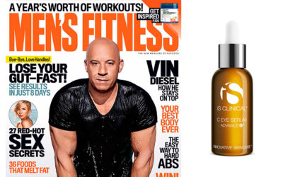 С EYE SERUM ADVANCE +® в новом номере Men's Fitness